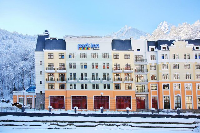 Park Inn by Radisson Rosa Khutor отель