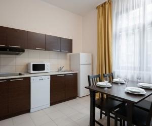 4-местный 3-комнатный апартамент с кухней Корп. 2, 4
